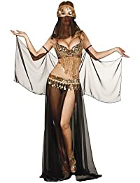 Sexy Bellydancer Bra Top & Skirt Costume Set