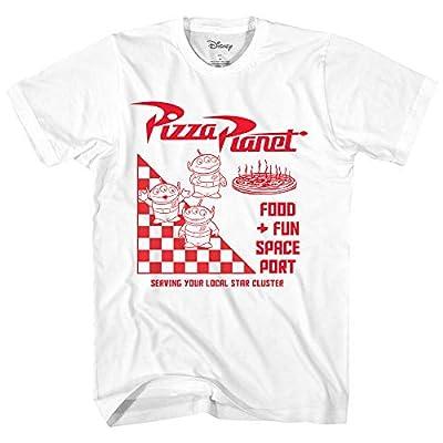 Disney Pixar Toy Story Pizza Planet Take Out Logo Disneyland World Tee Funny Humor Men's Graphic T-Shirt