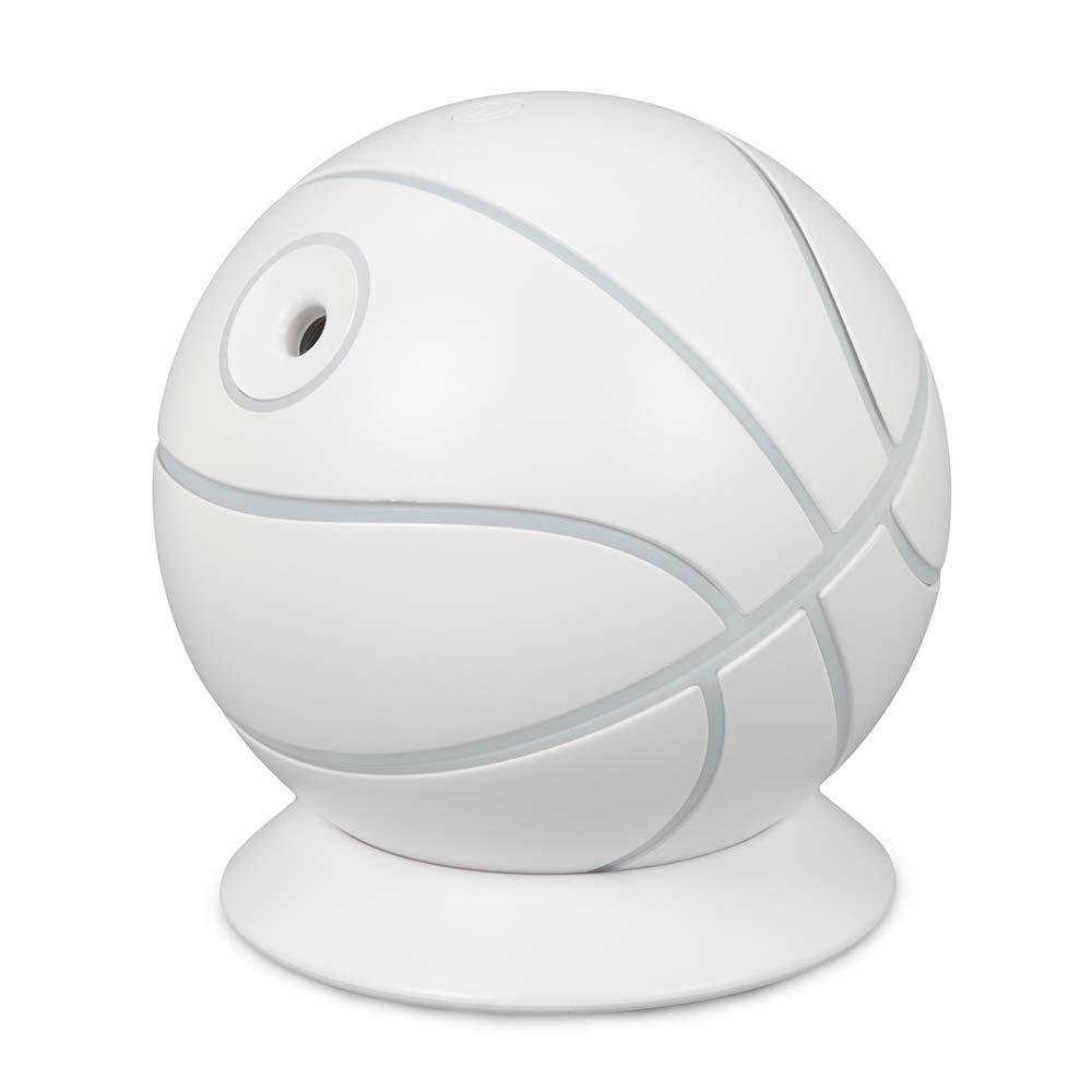Wenquan,Umidificatore d'aria e lampada a LED per auto da basket a grande capacità(color:GIGLIO PALLIDO BLU) Umidificatore d'aria e lampada a LED per auto da basket a grande capacità(color:GIGLIO PALLIDO BLU)