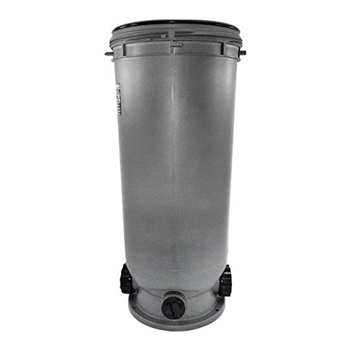 Pentair 59055700 Bottom Replacement Warrior Black 66-GPM Pool and Spa D.E. Filter by Pentair