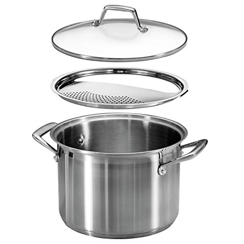 Tramontina 80120509ds Lock Drain Pasta Cooker Pot With Strainer