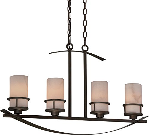 Luxury Rustic Chandelier, Large Size: 18.5
