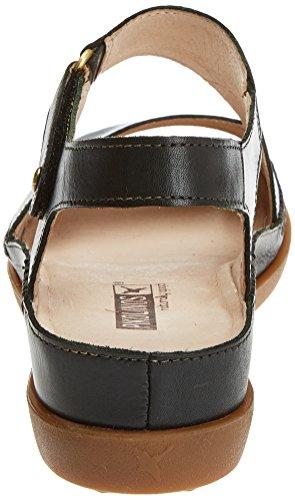 Pikolinos Cadaques W8k Sandali Con Cinturino Alla Caviglia Donna Nero