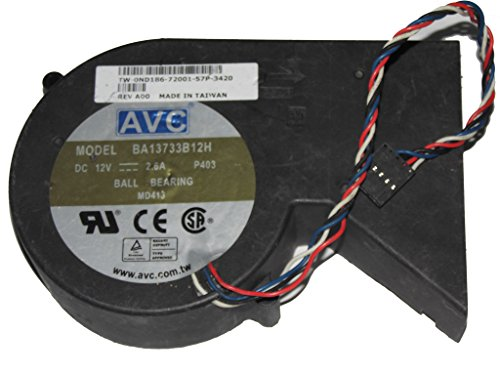 BA13733B12H 12V 2.6A 4Wire Optiplex GX280 Small Form Factor SFF Systems ND186 Cooler -