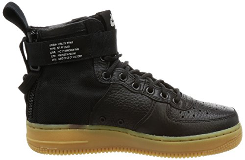 Brown Basketball Women's Nike SF Shoe Mid Black Light gum AF1 Black RvxIdqw