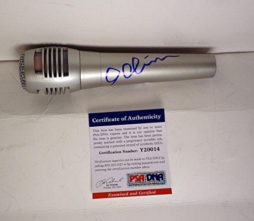 Idina Menzel Frozen Elsa Signed Autograph Microphone PSA/DNA COA