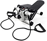 BIGTREE Adjustable Stair Stepper Exercise Equipment Step Machine Twisting Action Portable Hydraulic Cylinder w