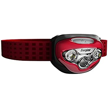 Energizer LED Headlamp with HD Vision Optics, 3 modes (Batteries Included)