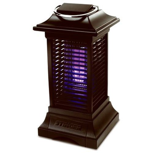 Stinger Cordless Rechargable Insect Zapper, Black