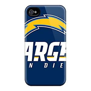 Iphone 4/4s Case Bumper Tpu Skin Cover For San Diego Chargers Accessories