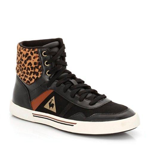 Le Coq Sportif - Zapatillas para mujer leopard print/black 38.5: Amazon.es: Zapatos y complementos