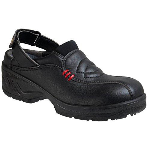 "ejendals 2902–44tamaño 44""jalas 2902Daniel Ocupacional Calzado, color negro/rojo"