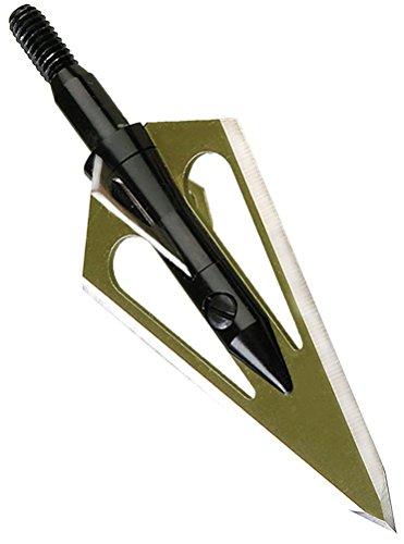 MagnUs Stinger Broadhead Deep Six 4 Blade 100 Gr. 3 PK. Silver