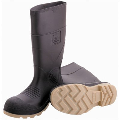 Tingley Rubber 51144 15-Inch Cleated Knee Boot, Size 9, Brown by TINGLEY