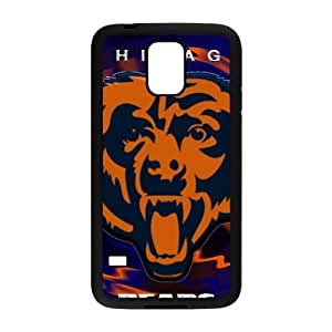 SKULL Chicago Bears Fashion Comstom Plastic case cover For Samsung Galaxy S5