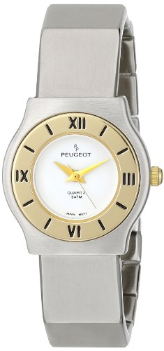 Peugeot Women's 729WT Two-Tone Bracelet Watch