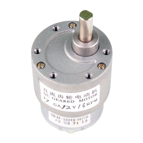 Nextrox 37mm 12v 15rpm electric mini geared box dc motor f for Small high torque dc motor