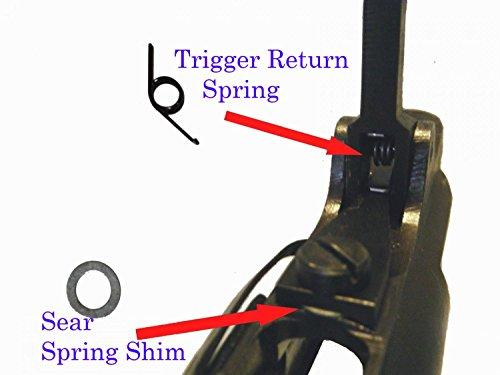 Mosin Nagant Trigger Spring Kit M91/30 Shorter Lighter