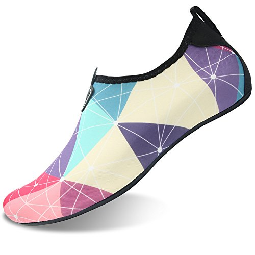 for Barefoot Water Barerun Aqua Surf Socks Purple Pool Dry Beach Women Sports Men Yoga Shoes Swim for Quick fpxg8