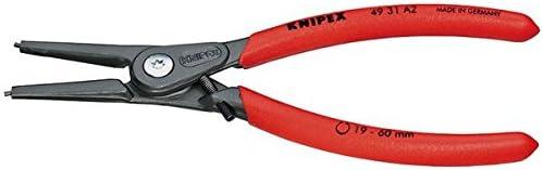 KNIPEX(クニペックス)4931-A2 軸用精密スナップリングプライヤー 直 ds-1849995