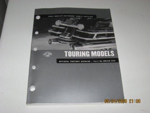 2002 Harley Davidson Touring Models Parts Catalog (Motorcycle Custom Wiring)