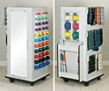 Atlas Tower Rac w/mirror - CabinetRac Vangaurd series Model 5139 - Storage rac system Physical Therapy / Exercise Equipment Storage Item# 5139