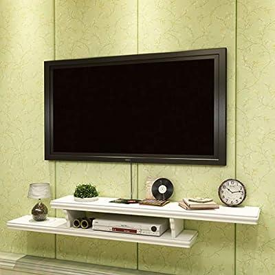 MKJYDM Estante de pared colgar en la pared TV gabinete TV de fondo ...