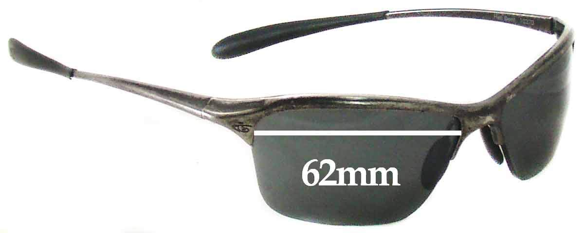 SFX Replacement Sunglass Lenses fits Bolle Hell Bent 10370 62mm Wide