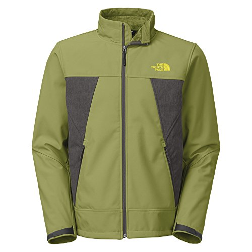 (The North Face Mens Apex Chromium Thermal Jacket (Grip Green/Asphalt Grey Heather, XX-Large))