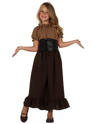 [RG Costumes Renaissance Peasant Girl, Child Small/Size 4-6] (Childrens Medieval Costumes Renaissance)