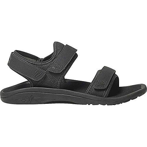 Dark Trench black Hokua Men's M 10 Blue OluKai Shadow sandals Pahu UZFUw