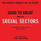 img - for Good to Great and the Social Sectors book / textbook / text book