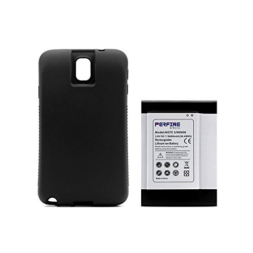 Perfine Samsung Galaxy Note3 [9600mAh] Extended Battery for N900T N9000...