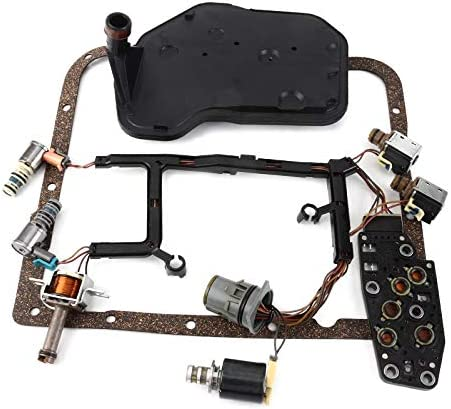 99139 4L60E Transmission Solenoid Kit W//Harness for GM 1993-2002 PWM Set