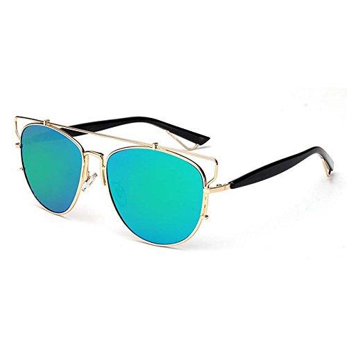 My.Monkey 2016 New Outdoor Fashion Reflective Lens Personality Wayfarer Sunglasses(C1) (Wayfarer Ray Bans Discounted)