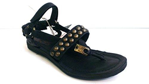 A.S.98 Sandale, Antikleder nero, 534016-0101-6002
