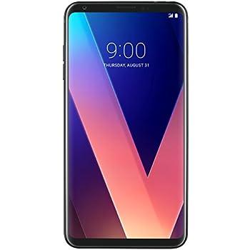 "LG Electronics V30+ Factory Unlocked Phone - 128GB, 6"", Black (U.S. Warranty)"
