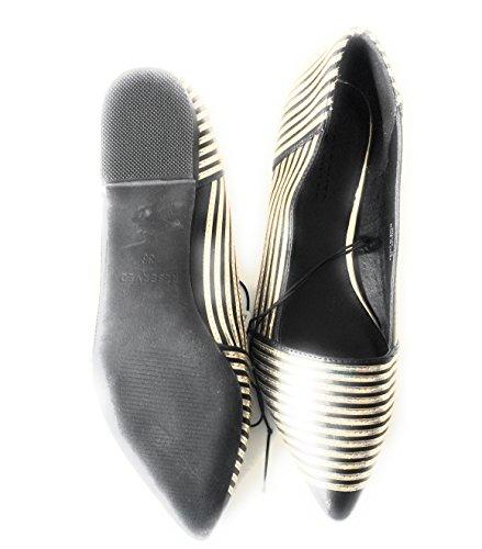 Ballerine RESERVED Elegante E Casual Nero Colore Oro adqxTpwdr