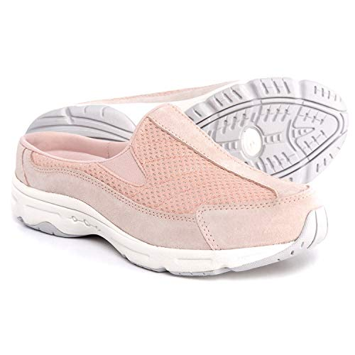 (Easy Spirit Women's Traveltime Mule, Soft Pink/Cameo Rose, 6 M)