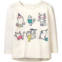 Gymboree Baby Girls' Long Sleeve Winter Graphic Tee