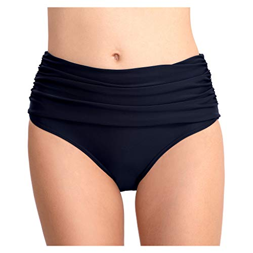 - Tootu Women Stretch Briefs Beach Swim Shorts Pant Bikini Pants Navy