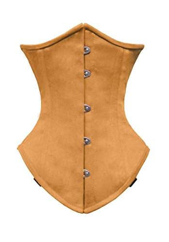 Training Luvsecretlingerie Boned Corset Waist Steel Cotton Double 26 Underbust