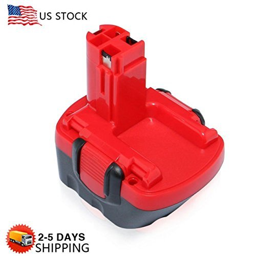 VANON 2.0Ah 12V Ni-CD Rechargeable Replacement Battery for Bosch BAT043 BAT045 BAT046 BAT049 BAT120 BAT139 Cordless Power Tools (1 Pack)]()