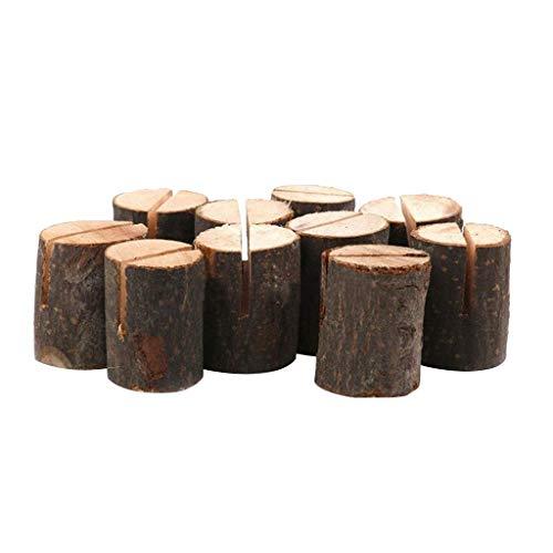 Rattan Bark - Log Photo Clip Bark Stump Crafts Ornaments Large Card Slot Daily Supplies Health