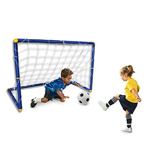 [Portable Folding Children Football Goal Door Set Football Gate Outdoor Sports Toys Kids Soccer Door Set Cool] (Little Boy Football Player Costume)