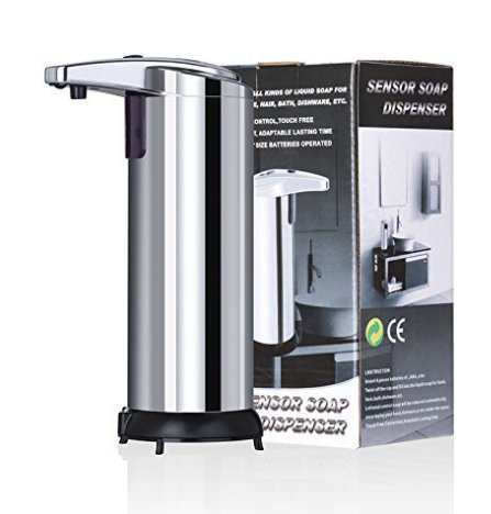 Spa Fitness Essentials Stainless Steel Smart Sensor countertop soap Dispenser for Kitchen and Bathroom by Spa Fitness Essentials (Image #9)