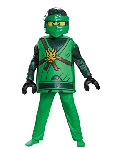 Lloyd Deluxe Ninjago Lego Costume, Small/4-6 ()