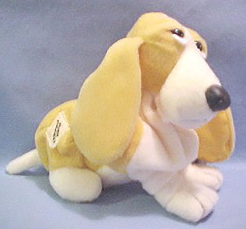 Plush Vanilla Scented Bananas N' Cream Hush Puppies Basset Hound Stuffed Animal