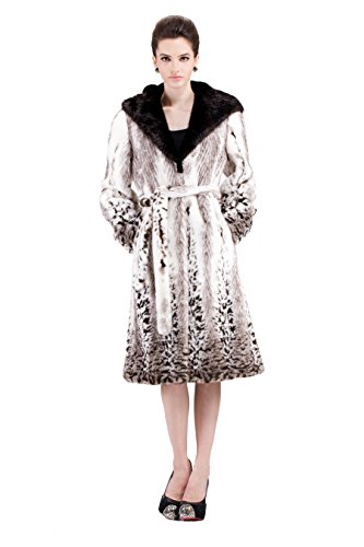Full Length Womens Mink Coat - 1