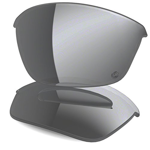 Oakley Half Jacket 2.0 Replacement Lens Clear Black Photo, One - Gray Photo Lenses